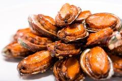 Kinesiskt kött - den brinnande abalonen Arkivfoton
