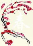 Kinesiskt kort för nytt år Royaltyfria Foton