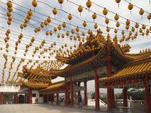 kinesiskt Kuala Lumpur malaysia tempel Arkivfoto