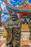 Kinesiskt kulturell och religionmuseum på Pattaya, Thailand Arkivbild