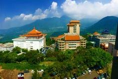 Kinesiskt kulturuniversitet i Taiwan Arkivfoto