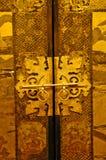 kinesiskt lås Arkivfoto
