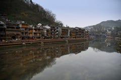 Kinesiskt landskap för forntida stad Royaltyfria Foton