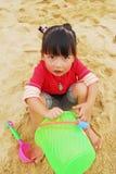 kinesiskt leka för strandbarn Royaltyfria Foton