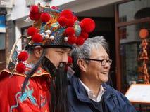 kinesiskt london nytt år Royaltyfri Fotografi
