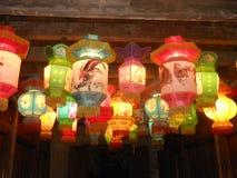 kinesiskt lyktapapper arkivbild