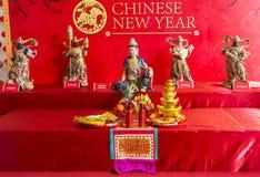 Kinesiskt mån- nytt år Arkivbilder