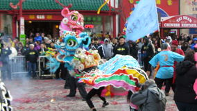 Kinesiskt nytt år arkivfilmer
