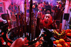 Kinesiskt nytt år 2015 Royaltyfri Foto
