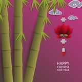 Kinesiskt nytt år för bakgrund också vektor för coreldrawillustration vektor illustrationer