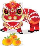kinesiskt nytt år för beröm Royaltyfri Fotografi