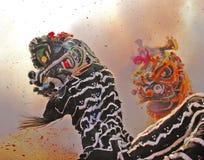 Kinesiskt nytt år i Philadelphia Royaltyfri Foto
