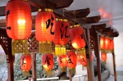 Kinesiskt nytt år i Shanghai Royaltyfri Bild
