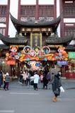 Kinesiskt nytt år i Shanghai Fotografering för Bildbyråer