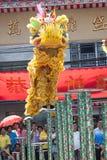 Kinesiskt nytt år lejondansen Fotografering för Bildbyråer