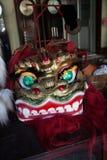 Kinesiskt nytt år lejondansen Arkivbilder