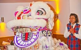 Kinesiskt nytt år på Inverness 2014 Royaltyfri Foto