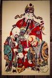 kinesiskt nytt målningsår arkivbild