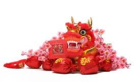 kinesiskt nytt prydnadår Arkivfoton