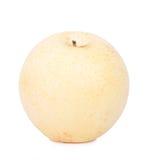 Kinesiskt päron som isoleras på vit bakgrund Royaltyfri Bild