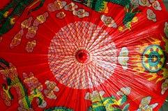 kinesiskt paraply royaltyfri bild