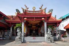 kinesiskt phuket tempel thailand Royaltyfri Foto