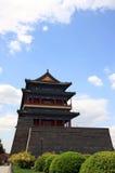 kinesiskt porttorn Arkivbild
