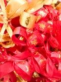 Kinesiskt rött band Royaltyfri Fotografi
