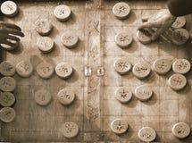 Kinesiskt schack Arkivbilder