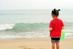kinesiskt seende hav för barn Arkivfoton
