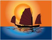 kinesiskt skräp Arkivbild