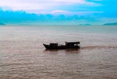Kinesiskt skräp för sydkinesiska havet royaltyfria bilder