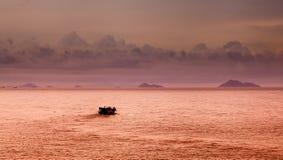 Kinesiskt skräp för sydkinesiska havet fotografering för bildbyråer