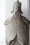 kinesiskt skulpturleende Royaltyfri Foto