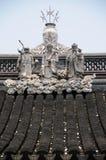 kinesiskt tak Arkivfoton