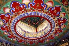 Kinesiskt tak Arkivfoto