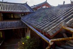 kinesiskt tak Arkivbilder
