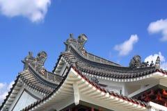 kinesiskt tak Royaltyfri Bild