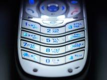 kinesiskt telefonlurtangentbord Fotografering för Bildbyråer