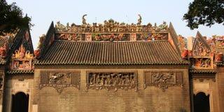 kinesiskt tempel Fotografering för Bildbyråer
