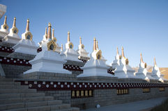 Kinesiskt tempel Arkivbilder