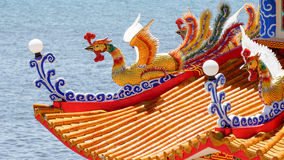 kinesiskt tempel Royaltyfri Foto