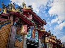 Kinesiskt tempel i Penang Royaltyfria Bilder