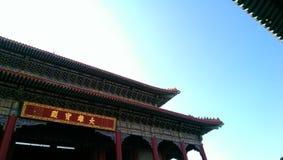 kinesiskt tempel thailand Fotografering för Bildbyråer