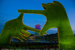 Kinesiskt torn Royaltyfri Foto