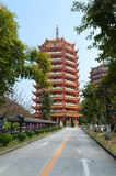 Kinesiskt torn Royaltyfri Fotografi