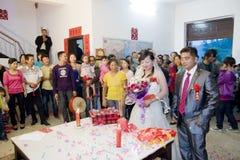 kinesiskt traditionellt bröllop Royaltyfri Bild