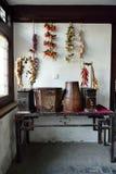 kinesiskt traditionellt matlagningområde Royaltyfria Foton