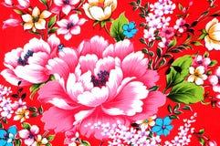 kinesiskt tyg Arkivbild