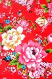 kinesiskt tyg Arkivbilder